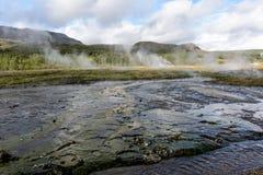 Iceland Gorące wiosny Zdjęcia Royalty Free