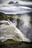 Iceland Gullfoss siklawa Fotografia Stock