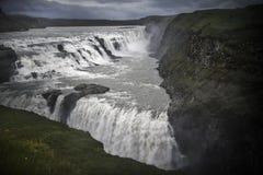 Iceland Gullfoss siklawa Obraz Royalty Free