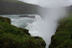 Iceland Gullfoss siklawa obrazy royalty free