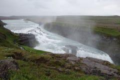 Iceland Gullfoss siklawa zdjęcia royalty free