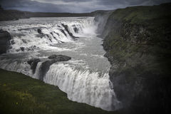 Iceland Gullfoss waterfall Royalty Free Stock Image
