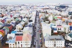 Iceland_Hallgrimskirkja-Kirche Lizenzfreies Stockbild