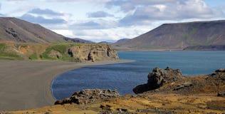 iceland halvöreyjkanes arkivbilder