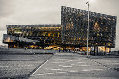 Iceland Harpa buiding. Stock Photography