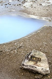 Iceland-Haukadalur-Blesi Geysir-Golden Circle Royalty Free Stock Images