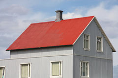Iceland house Stock Photography