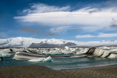 A lake in Iceland Royalty Free Stock Images