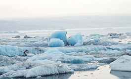Iceland Icebergs Royalty Free Stock Photography
