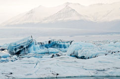 Iceland Icebergs Royalty Free Stock Photo