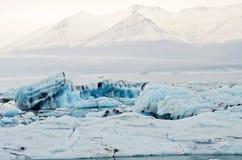 Iceland Icebergs Royalty Free Stock Photo