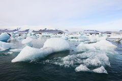 iceland joekulsarlon Royaltyfria Foton