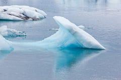 is- iceland jokulsarlonlagun royaltyfria bilder