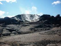 Iceland, Krafla volcanic area Royalty Free Stock Photo