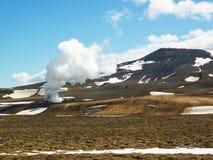 Iceland, Krafla volcanic area Stock Images