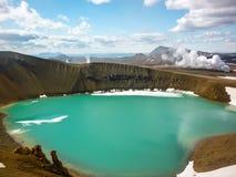 Iceland, Krafla volcanic area Royalty Free Stock Images