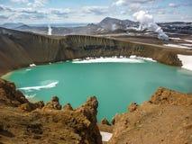 Iceland, Krafla volcanic area Royalty Free Stock Photos