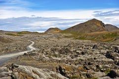 Iceland krajobraz Zdjęcia Stock