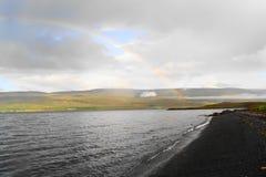 iceland krajobraz Zdjęcie Stock