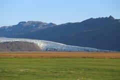 Iceland krajobrazu lodowiec Fotografia Royalty Free