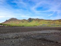 Iceland krajobrazy fotografia royalty free