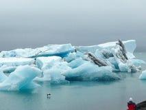 Iceland Krajobrazy woda fotografia stock