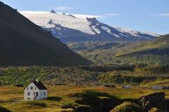 iceland kształtuje teren powulkanicznego Obraz Stock