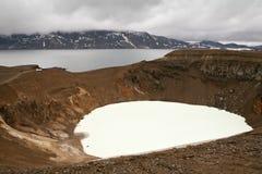 iceland lakes landscape två royaltyfri bild