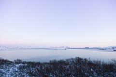 iceland lakethingvallavatn royaltyfri fotografi