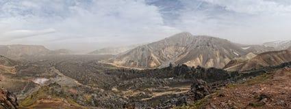 Iceland Landmannalaugar - ��rsm�rk trekking Royalty Free Stock Photography