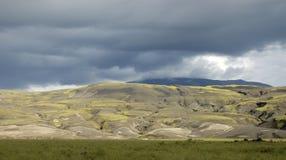 Iceland landscape. Royalty Free Stock Photography