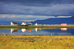 Iceland landscape. royalty free stock photography