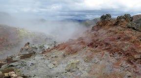 Iceland - landscape along  track Laugavegur Royalty Free Stock Photos