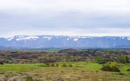 Iceland landscape Royalty Free Stock Photo