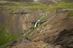 Iceland landscape natural. Beautiful Iceland landscape with river Stock Image