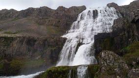 Iceland landscape near Dynjandi Waterfall Stock Photo