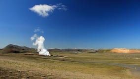 Iceland 2012. Iceland landscape near volcano Krafla traveling in summer 2012 Royalty Free Stock Photography
