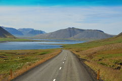 iceland landscapes vulkaniskt royaltyfria bilder