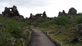 Iceland Lava formations Stock Photography