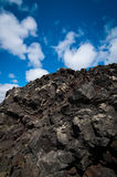 iceland lavarocks Arkivbild