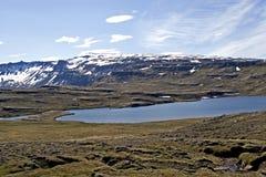 iceland liggande arkivfoto