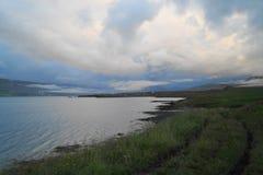 iceland liggande Royaltyfri Foto
