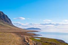 iceland liggande Fotografering för Bildbyråer