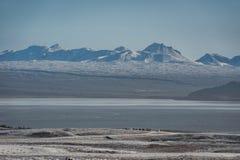 iceland liggande Berg royaltyfria foton
