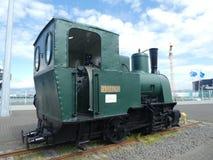 Iceland lokomotywa na porcie Reykjavik zdjęcie stock