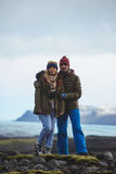 Iceland Love Story Royalty Free Stock Image