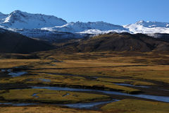 The Iceland mountain Royalty Free Stock Photography
