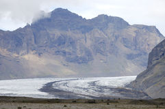 Iceland mountain landscape. Royalty Free Stock Photo