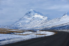 Iceland mountain Stock Photos