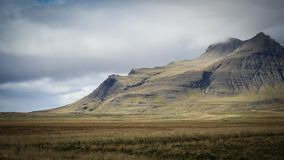 Iceland mountain view royalty free stock image